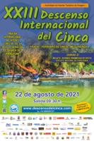 Cartel XXIII Descenso del Cinca 2021