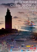CARTEL IV OCEAN RACE CIDADE DA CORUÑA 2021