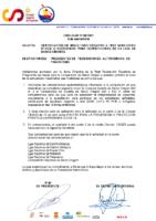 CIRCULAR Nº 30 2021 CERTIFICACIÓN DE RESULTADO NEGATIVO A TEST SARS COV-2 RT-PCR O ANTÍGENEOS PARA COMPETICIONES DE LA LIGA DE BARCO DRAGÓN.