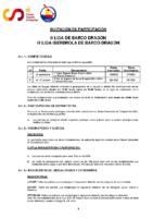 INVITACIÓN DE PARTICIPACIÓN LIGA NACIONAL BARCO DRAGÓN 2021