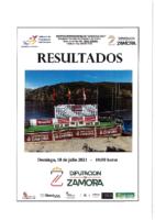 Resultados Regatas Internacionales Sanabria 2021